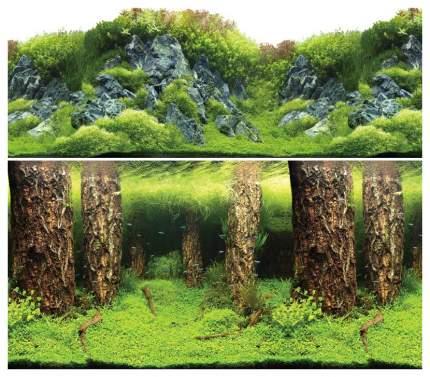 Фон для аквариума Laguna 9086/9087 Затонувшие стволы/Изумрудные скалы 74064072