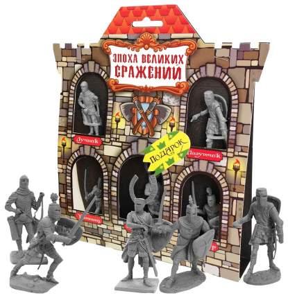 БИПЛАНТ Игровой набор Крестоносцы №2 (5 фигурок), арт. 12059