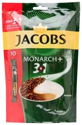 Кофейный напиток растворимый Jacobs monarch+ 3в1 10*15 г