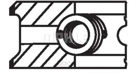 Кольца поршневые Mahle 00865N0