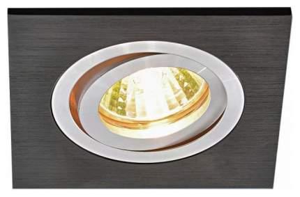 Встраиваемый светильник Elektrostandard 1051/1 BK Черный a035241