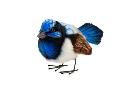 Мягкая игрушка Hansa Крапивник голубой 7 см