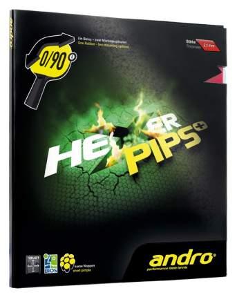 Накладка для ракетки Andro Hexer Pips Plus черная 2.1