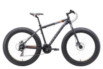 "Велосипед Stark Fat 26.2 D 2019 18"" black/gray/orange"