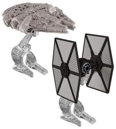 Игровой набор Mattel Star Wars: Tie Fighter vs Millennium Falcon