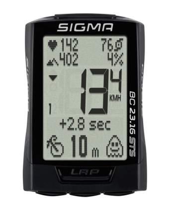 Велокомпьютер Sigma BC 23.16 STS черный