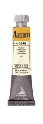 Масляная краска Maimeri 084 кадмий желтый темный 20 мл