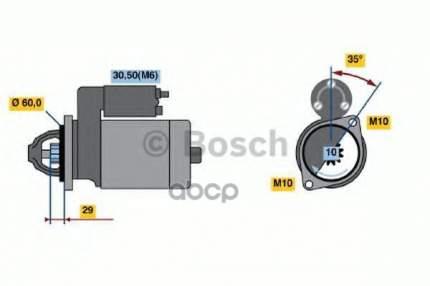 Стартер Bosch 0986021330