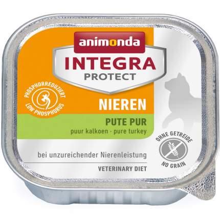 Консервы для кошек Animonda Integra Protect Cat RENAL, индейка, 100г