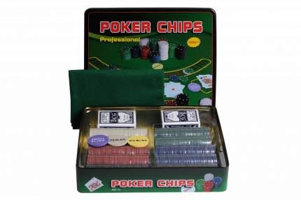 Набор для покера Partida Holdem Light на 500 фишек с номиналом