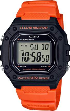 Наручные часы электронные мужские Casio Collection W-218H-4B2