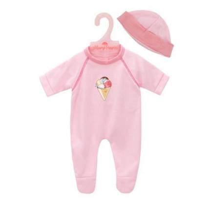 MARY POPPINS Одежда для кукол 38-45 см Комбинезон с шапочкой. Карамель