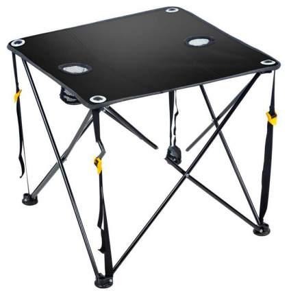 Стол складной Nika ПСТП, 61,5 x 61,5 x 55 см, черный
