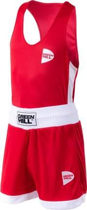 Форма для бокса Green Hill BSI-3805 Interlock, детская, красный (8 лет)