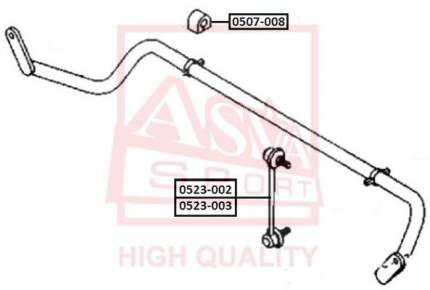Стойка стабилизатора ASVA 0523-003