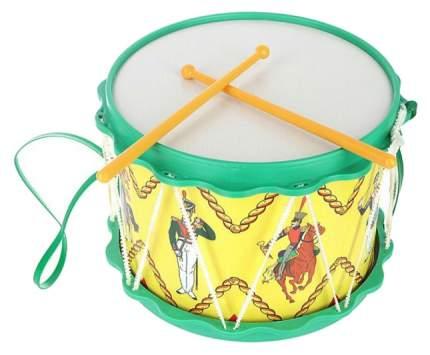 Барабан игрушечный ТулИгрушка Гусарский С2-2 в ассортименте