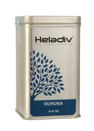 Чай черный листовой Heladiv TIN PL ruhuna tea 100 г