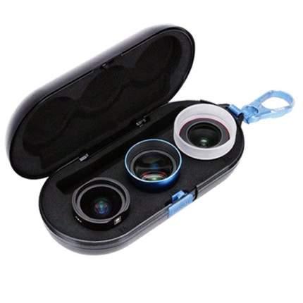 Комлект объективов для смартфона Sirui 3 объектива (18мм wideangle, 60мм portrait, Macro)