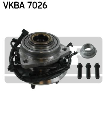 Комплект подшипника ступицы колеса SKF VKBA 7026