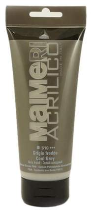Акриловая краска Maimeri Acrilico M0924510 серый холодный 200 мл