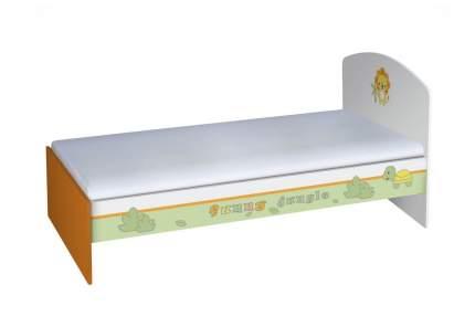 Кровать-трансформер Polini Basic Джунгли 180 х 90 белый
