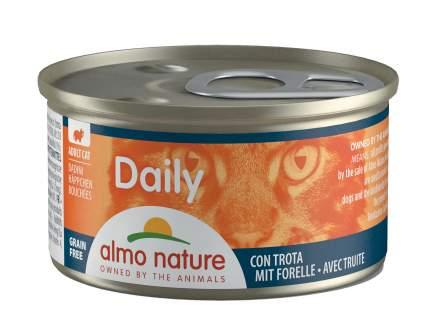 Консервы для кошек Almo Nature Daily Adult, форель, 85г