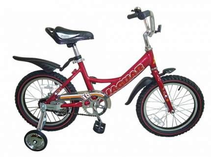 Детский двухколесный велосипед Jaguar MS-A162 красный