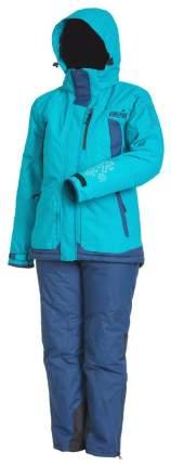 Костюм для рыбалки женский Norfin Women Snowflake 2, голубой, XL INT, 180-186 см