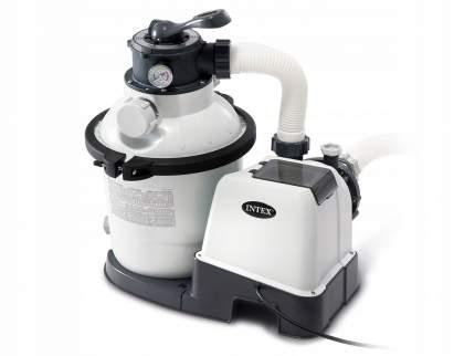Intex, Песочный фильтр-насос Krystal Clear, 4,5м3/ч, резервуар для песка 12кг, 26644