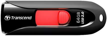 USB-флешка Transcend JetFlash 590 64GB Red/Black (TS64GJF590K)