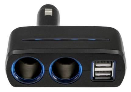Разветвитель для прикуривателя Neoline SL-220 10A 4 гн. 2 USB 341429