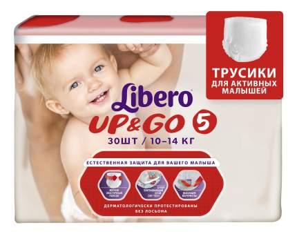 Подгузники-трусики Libero Up&Go Size 5 (10-14кг), 30 шт.