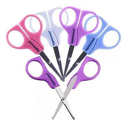 Ножницы детские безопасные Курносики