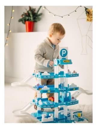 Парковка игрушечная Wader Aral-2 4-х уровневый с авто