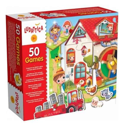 Настольная игра Ludattica набор 50 игр