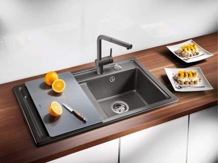 Мойка для кухни керамическая Blanco IDESSA 5 S 516081 серый алюминий