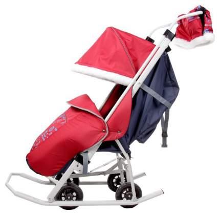 Санки-коляска Micio Любимый сыночек Красный (1466267)