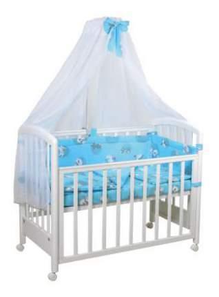 Комплект детского постельного белья Тополь Фея Наши друзья голубой