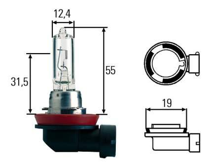 Лампа галогенная Hella 65W PGJ19-5 8GH 008 357-001