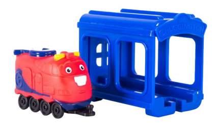 Гараж игрушечный Jazwares Chuggington Паровозик Джекман