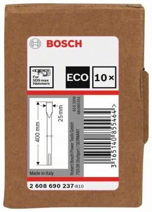 Зубило SDS-MAX для перфораторов Bosch 400мм 2608690237