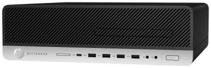 Системный блок HP EliteDesk 800 G3 1FU43AW Серебристый, черный