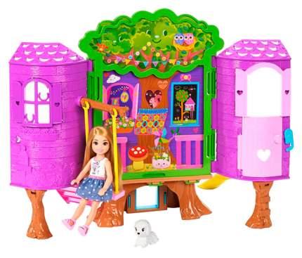 Игровой набор Barbie Домик на дереве Челси FPF83