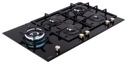 Встраиваемая варочная панель газовая Korting HGG 985 CTN Black