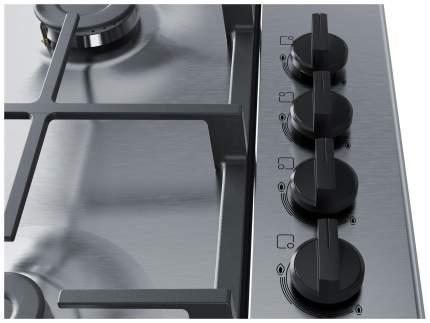 Встраиваемая варочная панель газовая Bosch PBP6C5B91R Silver
