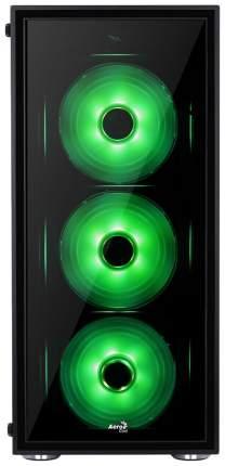 Компьютерный корпус AeroCool Quartz RGB без БП black/transparent