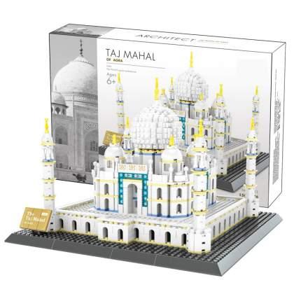 Конструктор Wange Шедевры мировой архитектуры Тадж-Махал 1505 деталей