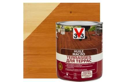 Масло для террас 3V3 2.5л. тик матовый