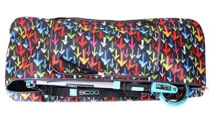 Чехол-портмоне складной для самоката Y-SCOO 145 Разноцветные стрелки