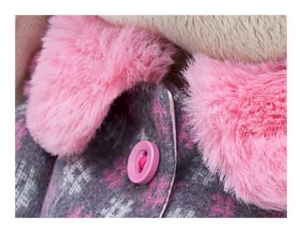 Мягкая игрушка BUDI BASA Зайка Ми в пальто и шапке, 23 см